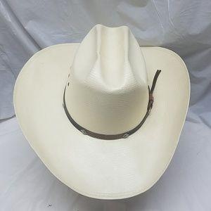 Stetson Straw Cowboy Hat 7 1/2